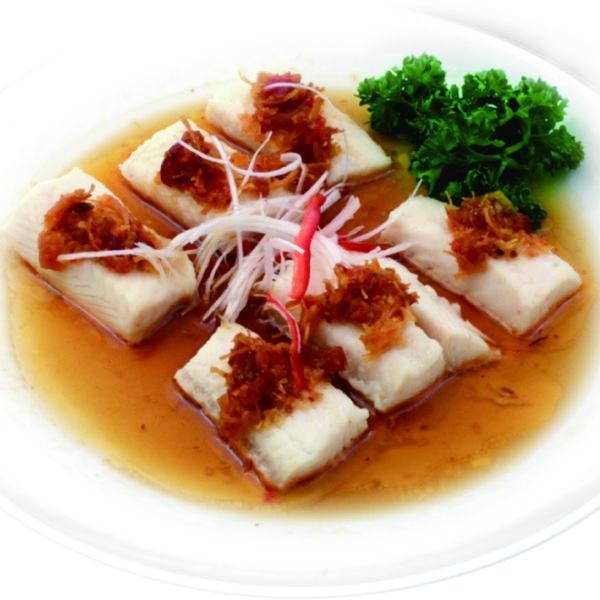 白身魚のXO醤蒸し