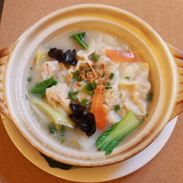 広東風自家製ワンタン or 水餃子鍋