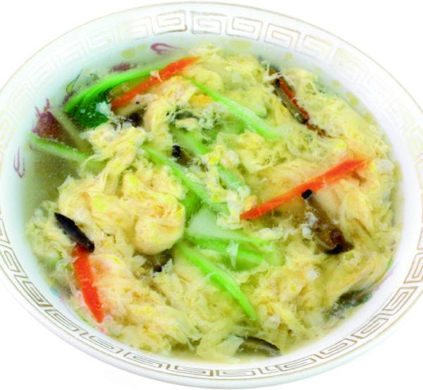 野菜玉子スープ