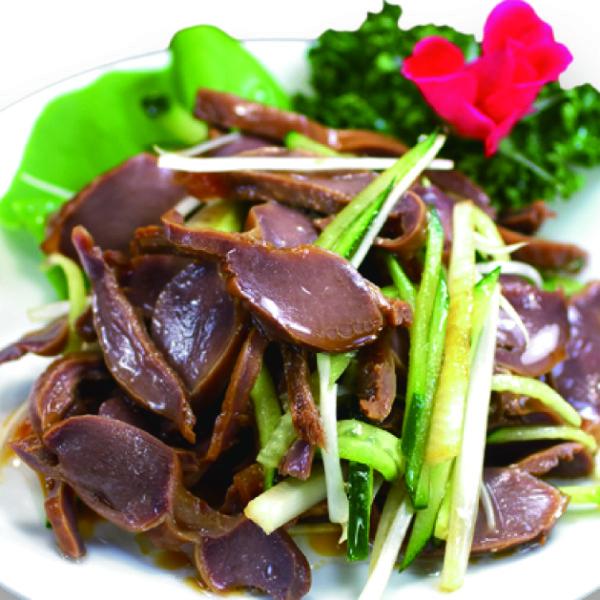 砂肝の冷菜